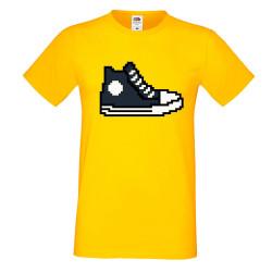 Мъжка тениска 8-bit shoe navy