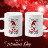 Комплект чаши за влюбени I love you gnome matter what Свети Валентин