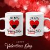 Комплект чаши за влюбени Be my quarantine ValentineСвети Валентин