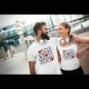 Tic Tac Toe Морски шах сърца Комплект тениски за влюбени