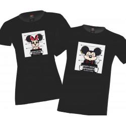Mickey Minnie Mouse bad Комплект тениски за влюбени