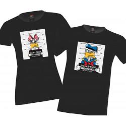 Donald Duck Daisy Комплект тениски за влюбени