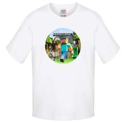 Детска тениска Minecraft 4
