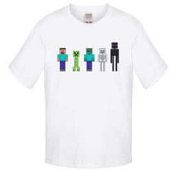 Детска тениска Minecraft 7