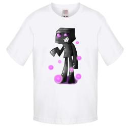 Детска тениска Minecraft Enderman 02