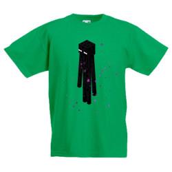 Детска тениска Minecraft Enderman 01