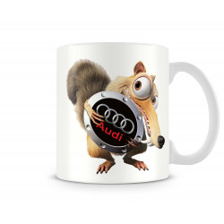 """Чаша """"scrat audi mug"""""""