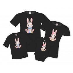 Семеен комплект Великден Пролетни Зайчета