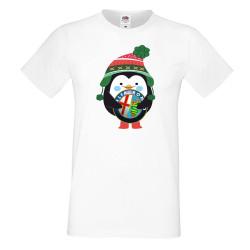"""Мъжка тениска """"Alfa Romeo Penguin"""""""