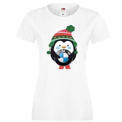 "Дамска тениска ""BMW Penguin"""