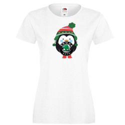 "Дамска тениска ""Skoda Penguin"""