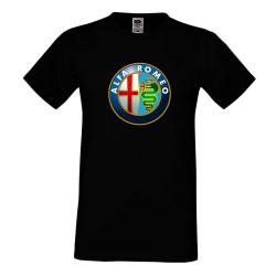 """Мъжка тениска """"Alfa Romeo"""""""