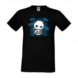 Мъжка тениска Panda Gamer