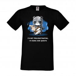Мъжка тениска Panda RPG Warrior