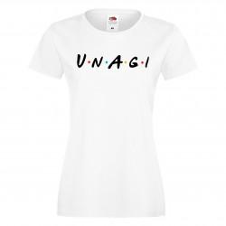 Дамска тениска Приятели Unagi Friends