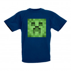 Детска тениска Minecraft Creeper 3