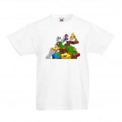 Детска тениска Супер Марио Super Mario Game Scene
