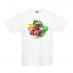 Детска тениска Супер Марио Super Mario 14