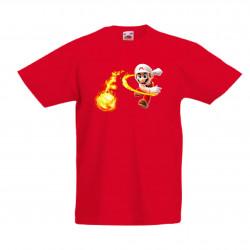 Детска тениска Супер Марио Super Mario Fireball
