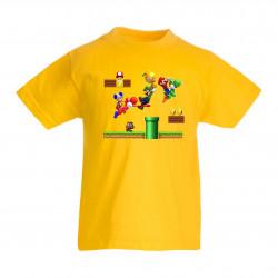 Детска тениска Супер Марио Super Mario 10