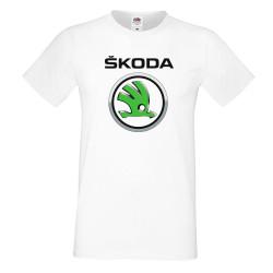 Мъжка тениска SKODA