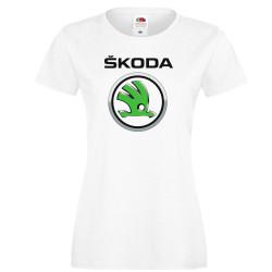 Дамска тениска SKODA