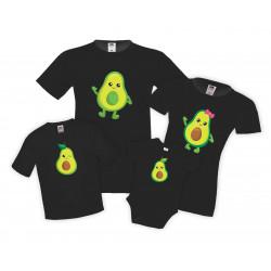 Семеен комплект тениски Семейство Авокадо Avocado Family