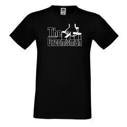 Мъжка тениска TEAM GROOM godfather