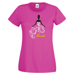 Дамска тениска с къс ръкав Bride 02