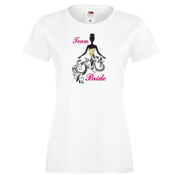 Дамска тениска с къс ръкав Team Bride 02