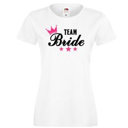 Дамска тениска с къс ръкав Team Bride 03