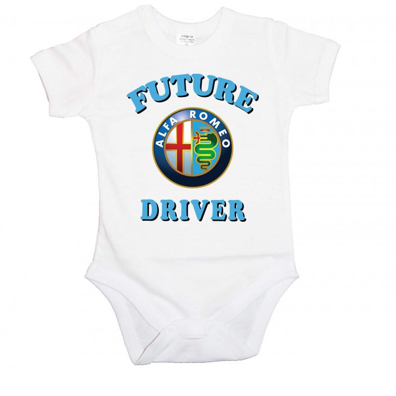 Бебешко боди Alfa Romeo Future driver