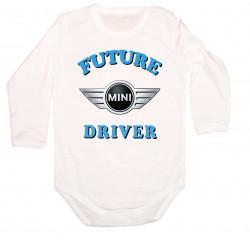 Бебешко боди Mini Cooper Future driver