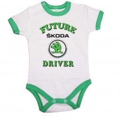 Бебешко боди Skoda Future driver