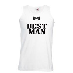 Мъжки потник за ергенско парти BEST MAN BOWTIE