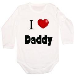 Бебешко боди I Love Daddy 1