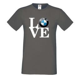 Мъжка тениска BMW LOVE white