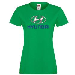 Дамска тениска HYUNDAI