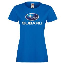Дамска тениска Subaru