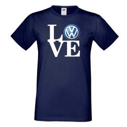 Мъжка тениска VW LOVE