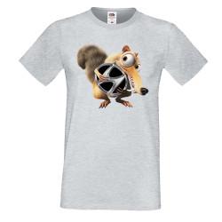 Мъжка тениска HUNDAY Scrat
