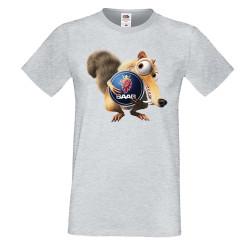 Мъжка тениска SAAB Scrat