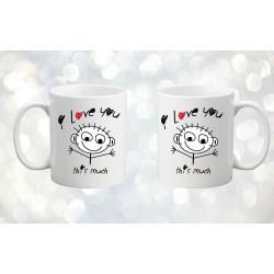 Комплект чаши за влюбени 4