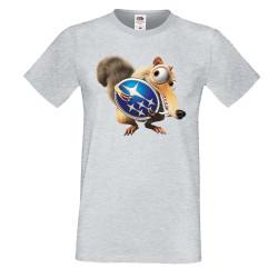 Мъжка тениска SUBARU Scrat