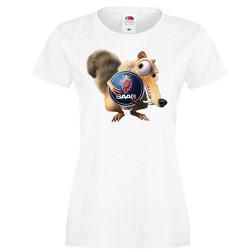 Дамска тениска SAAB Scrat