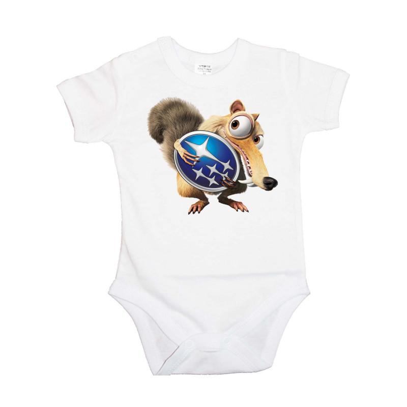 Бебешко боди SUBARU Scrat