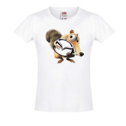 Тениска за момиче MAZDA Scrat