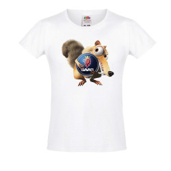 Тениска за момиче SAAB Scrat