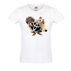 Тениска за момиче TOYOTA Scrat