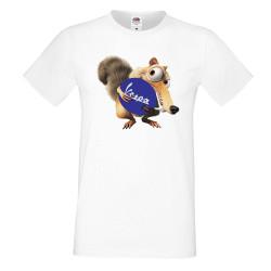 Мъжка тениска VESPA Scrat
